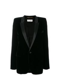 schwarzes Sakko von Saint Laurent
