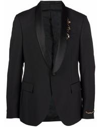 schwarzes Sakko von Versace