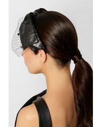 schwarzes Samt Haarband von Eugenia Kim