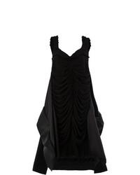 schwarzes schwingendes Kleid von Maison Margiela