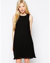 schwarzes schwingendes Kleid von Vero Moda