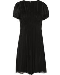 schwarzes Seide schwingendes Kleid von Marc by Marc Jacobs