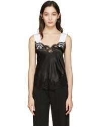 schwarzes Seide Trägershirt von Givenchy