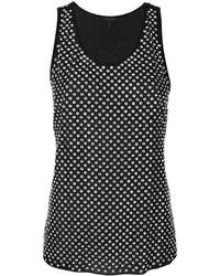 schwarzes Seide Trägershirt von Marc Jacobs