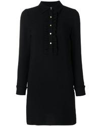 schwarzes Seideshirtkleid von MICHAEL Michael Kors