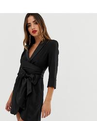 schwarzes Shirtkleid von ASOS DESIGN