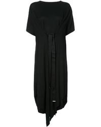schwarzes Shirtkleid von Maison Margiela
