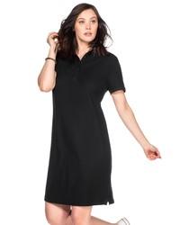 schwarzes Shirtkleid von SHEEGO BASIC