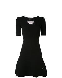 schwarzes Skaterkleid von Philipp Plein