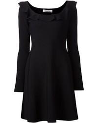 schwarzes Skaterkleid von Valentino
