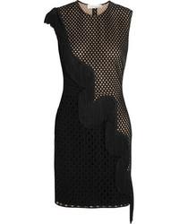 schwarzes Spitze Cocktailkleid von Stella McCartney