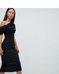 01236b388526 schwarzes Spitze figurbetontes Kleid von Asos   Wo zu kaufen und wie ...
