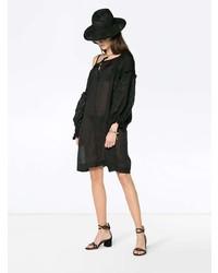 schwarzes Strandkleid von Innika Choo