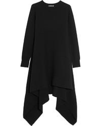 schwarzes Sweatkleid von Alexander McQueen