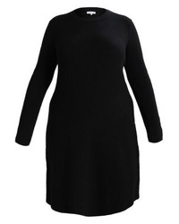schwarzes Sweatkleid von Anna Field