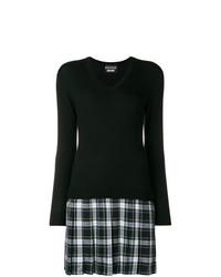 schwarzes Sweatkleid von Boutique Moschino