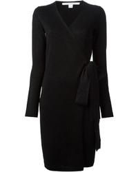 schwarzes Sweatkleid von Diane von Furstenberg