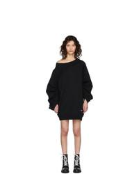 schwarzes Sweatkleid von Dsquared2