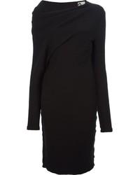 schwarzes Sweatkleid von Lanvin