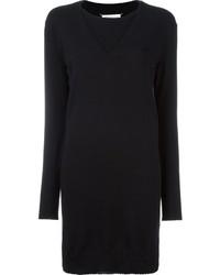 schwarzes Sweatkleid von Maison Margiela