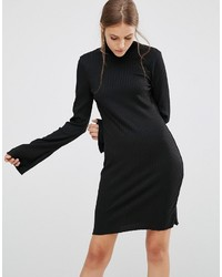 Schwarzes Sweatkleid von Minimum