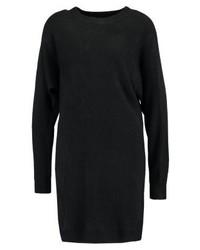 schwarzes Sweatkleid von New Look