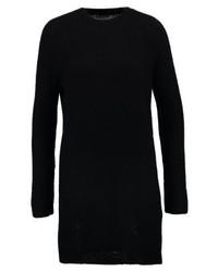 schwarzes Sweatkleid von Only