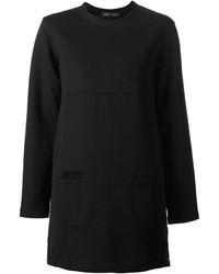 schwarzes Sweatkleid von Proenza Schouler