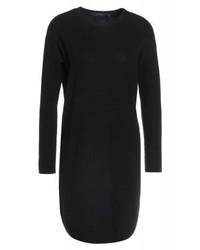 schwarzes Sweatkleid von Ralph Lauren