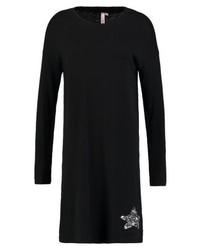 schwarzes Sweatkleid von s.Oliver