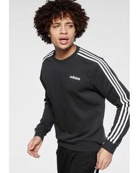 schwarzes Sweatshirt von adidas