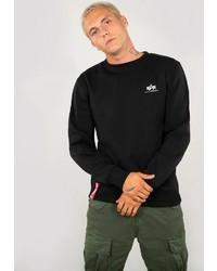 schwarzes Sweatshirt von Alpha Industries