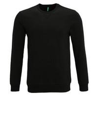 schwarzes Sweatshirt von Benetton