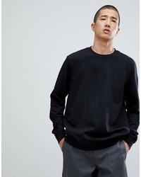 schwarzes Sweatshirt von Bershka