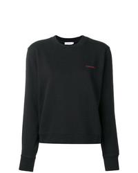 schwarzes Sweatshirt von Calvin Klein