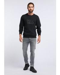 schwarzes Sweatshirt von Dreimaster