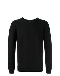 schwarzes Sweatshirt von Emporio Armani