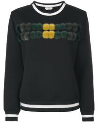 schwarzes Sweatshirt von Fendi