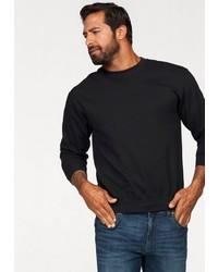 schwarzes Sweatshirt von Fruit of the Loom