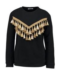 schwarzes Sweatshirt von Glamorous