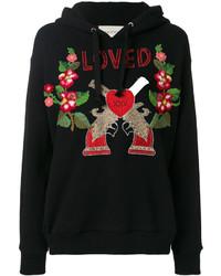 schwarzes Sweatshirt von Gucci