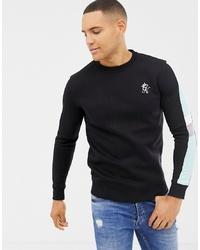 schwarzes Sweatshirt von Gym King