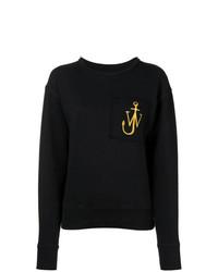 schwarzes Sweatshirt von JW Anderson