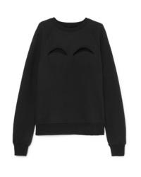 schwarzes Sweatshirt von Maison Margiela