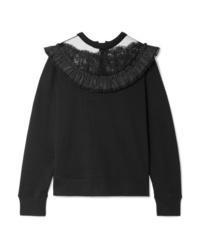 schwarzes Sweatshirt von Marc Jacobs