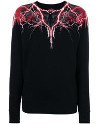 schwarzes Sweatshirt von Marcelo Burlon County of Milan