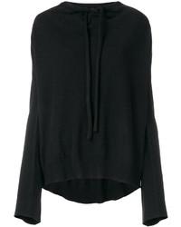 schwarzes Sweatshirt von MM6 MAISON MARGIELA