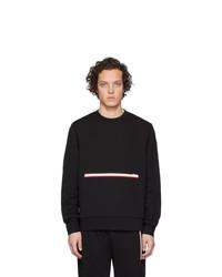schwarzes Sweatshirt von Moncler