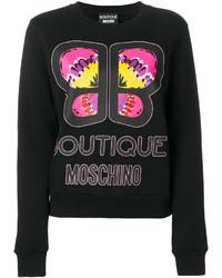 schwarzes Sweatshirt von Moschino
