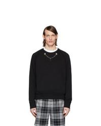 schwarzes Sweatshirt von Neil Barrett